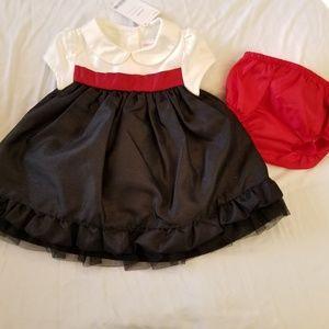 NWT GYMBOREE Tafetta Dress & Blmr~0-3m~$20